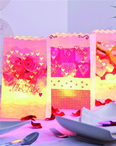 Luminaria table display