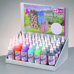 Efco sock Stop display