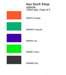 Efco new sock stop colours