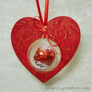 Efco Heart Papp Art and Bauble