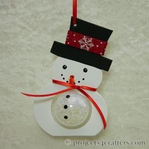 Efco Snowman Papp Art and Bauble