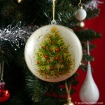 Projects4Crafters Christmas Bauble SO/0008M