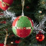 Projects4Crafters Christmas Felted Bauble SO/0011M