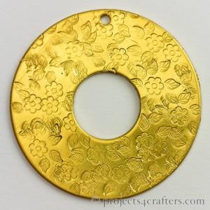 Efco Donut Metall Art Pendant