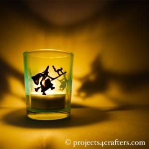 Witch Night Light 2