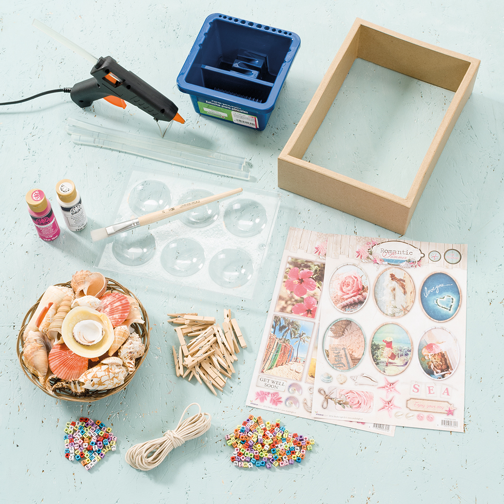 Efco Embossing Tool Plastic tip Set 3 Parts Metal Silver 25 x 10 x 2 cm